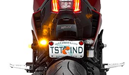 TST Low Profile LED Rear Turn Signals for Yamaha FZ-09 2017+