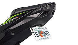 TST Elite-1 Fender Eliminator for Kawasaki ZX6R 2013-2018