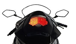 TST LED Integrated Tail Light Kawasaki 2008-2010 ZX10R & 2009-2012 ZX6R